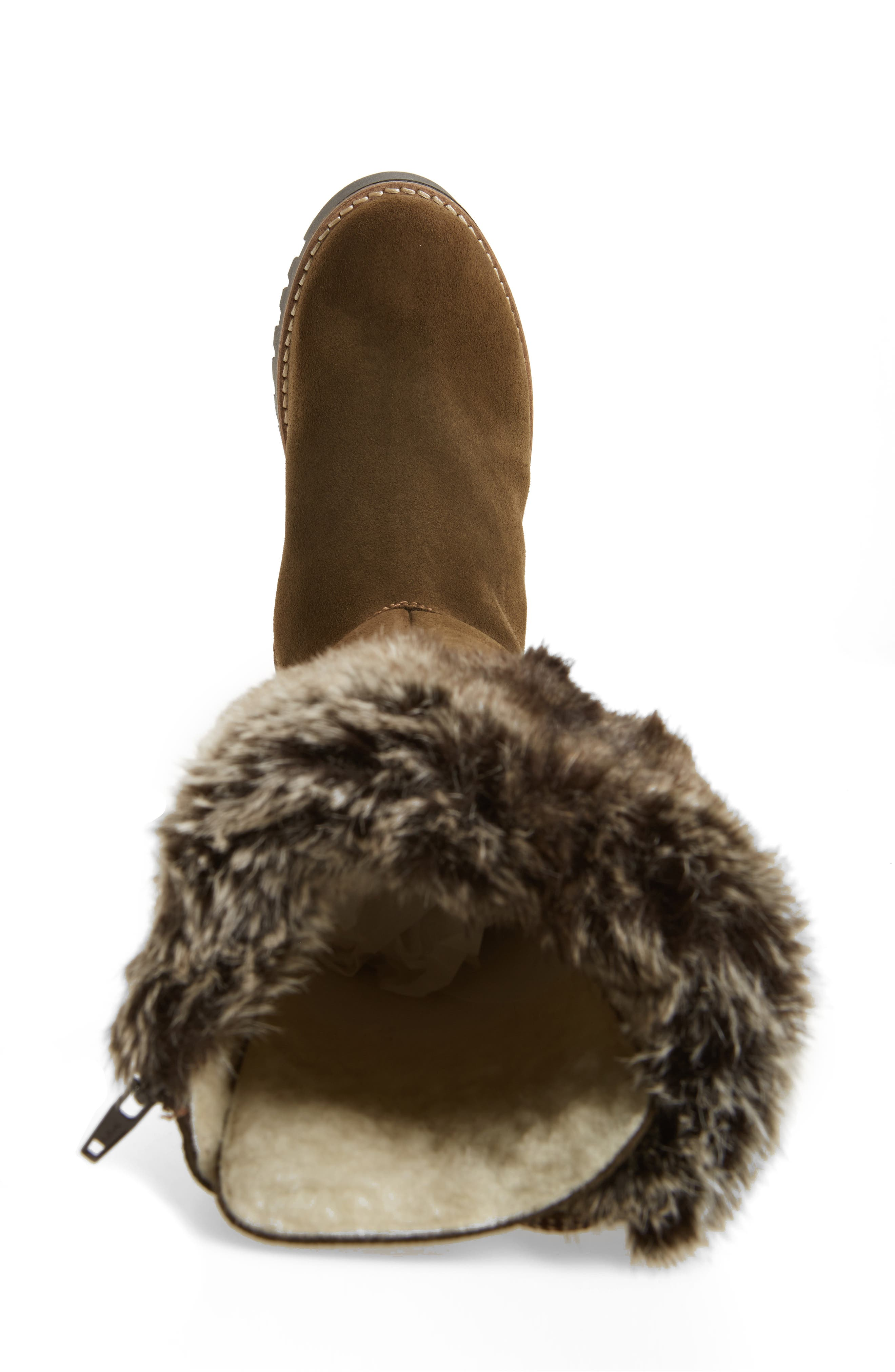 ,                             Graham Waterproof Winter Boot with Faux Fur Cuff,                             Alternate thumbnail 17, color,                             300