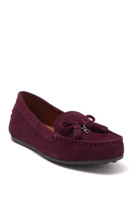 Image of Coach Gia Suede Tassel Loafer