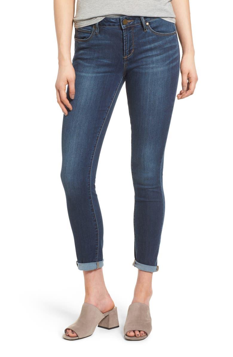ARTICLES OF SOCIETY Karen Crop Skinny Jeans, Main, color, 400