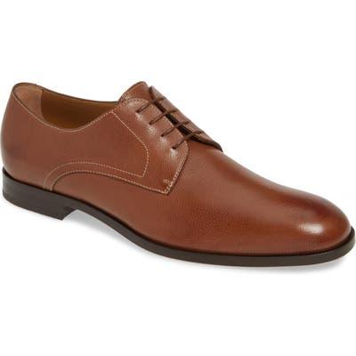 Boss Brighton Plain Toe Derby- Brown