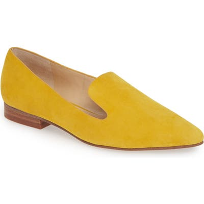 Sole Society Kapa Asymmetrical Loafer, Yellow