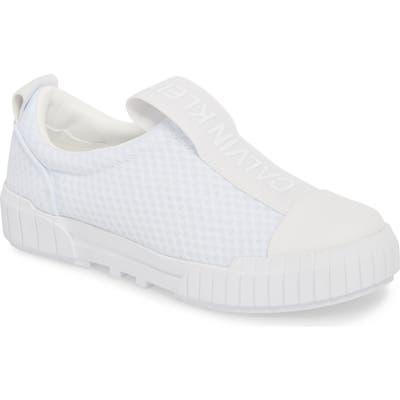 Calvin Klein Jeans Bamina Slip-On Sneaker, White