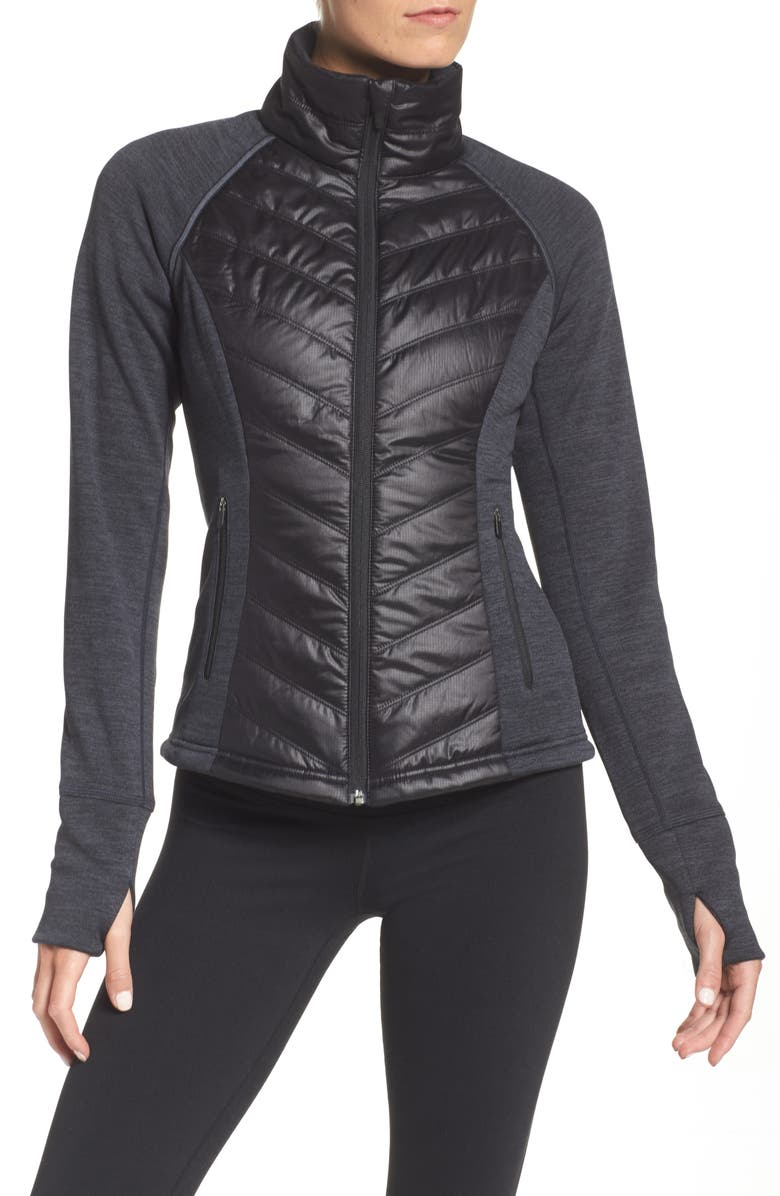 ZELLA Zelfusion Reflective Quilted Jacket, Main, color, 001