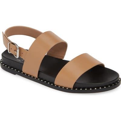 Linea Paolo Reid Studded Sandal, Beige
