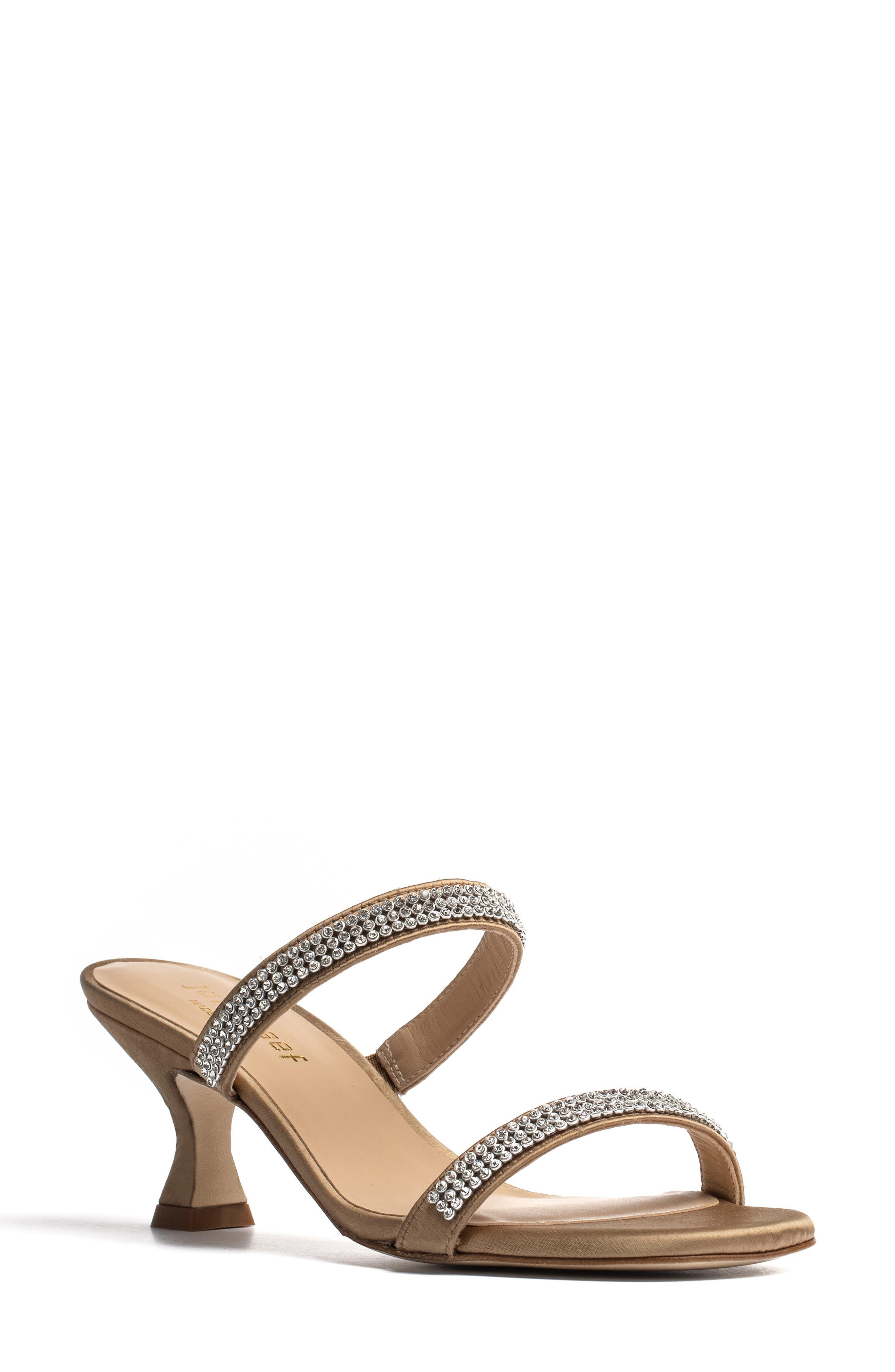 Campana Rhinestone Embellished Sandal
