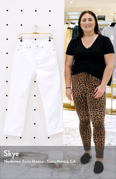 High Waist Dad Jeans, sales video thumbnail