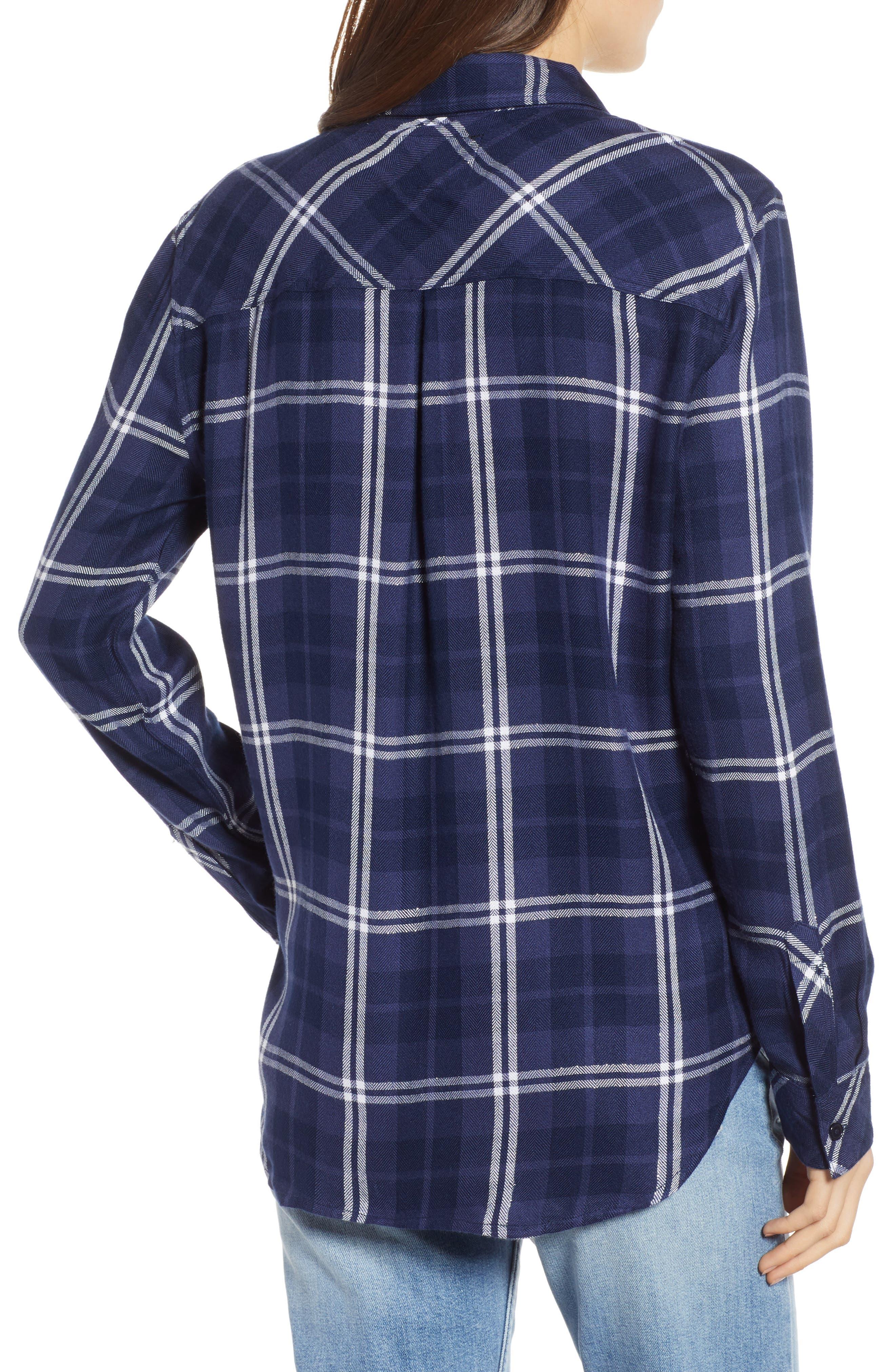 ,                             Hunter Plaid Shirt,                             Alternate thumbnail 371, color,                             420