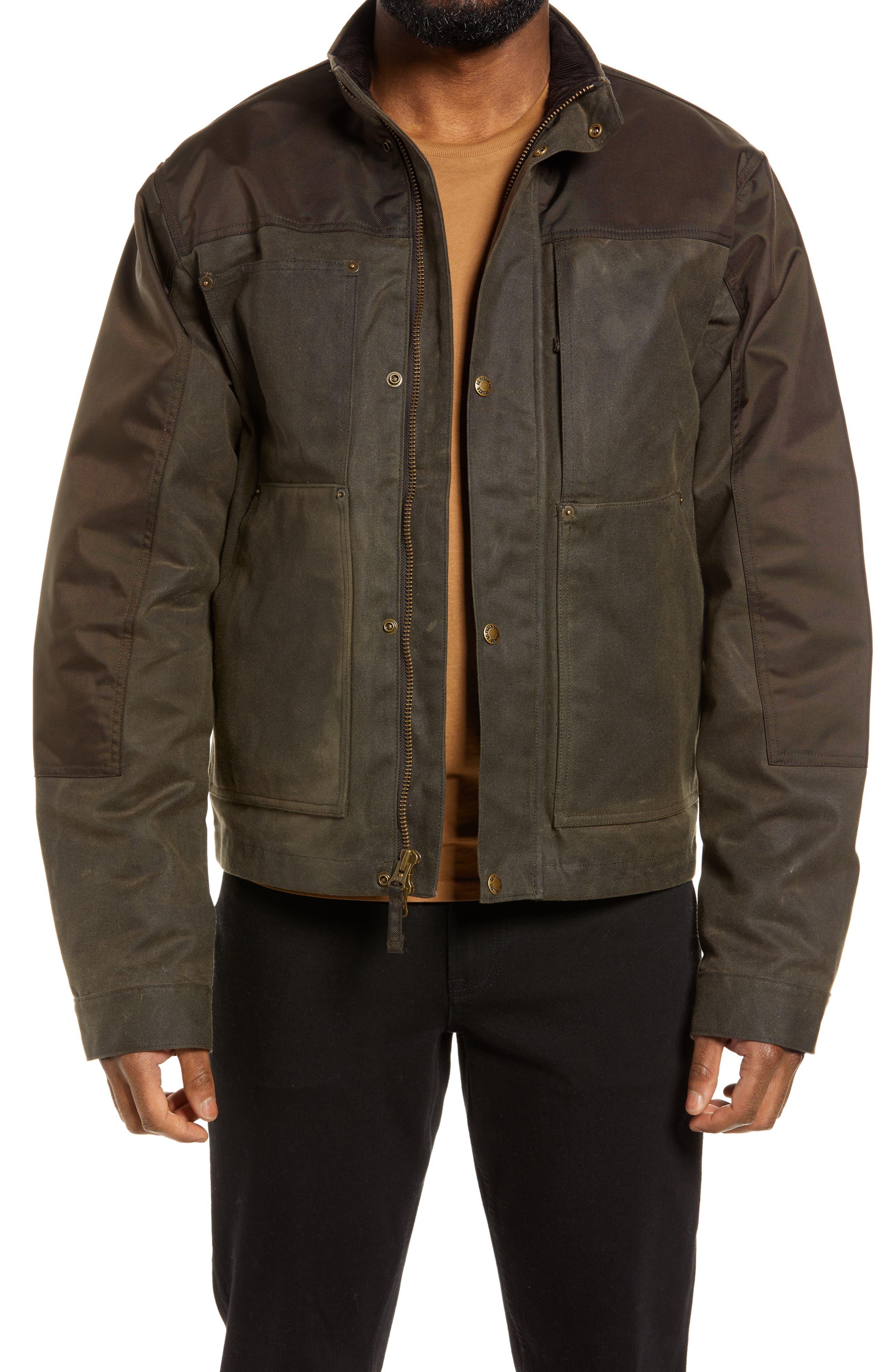 Alcan Waxed Cotton Cruiser Jacket