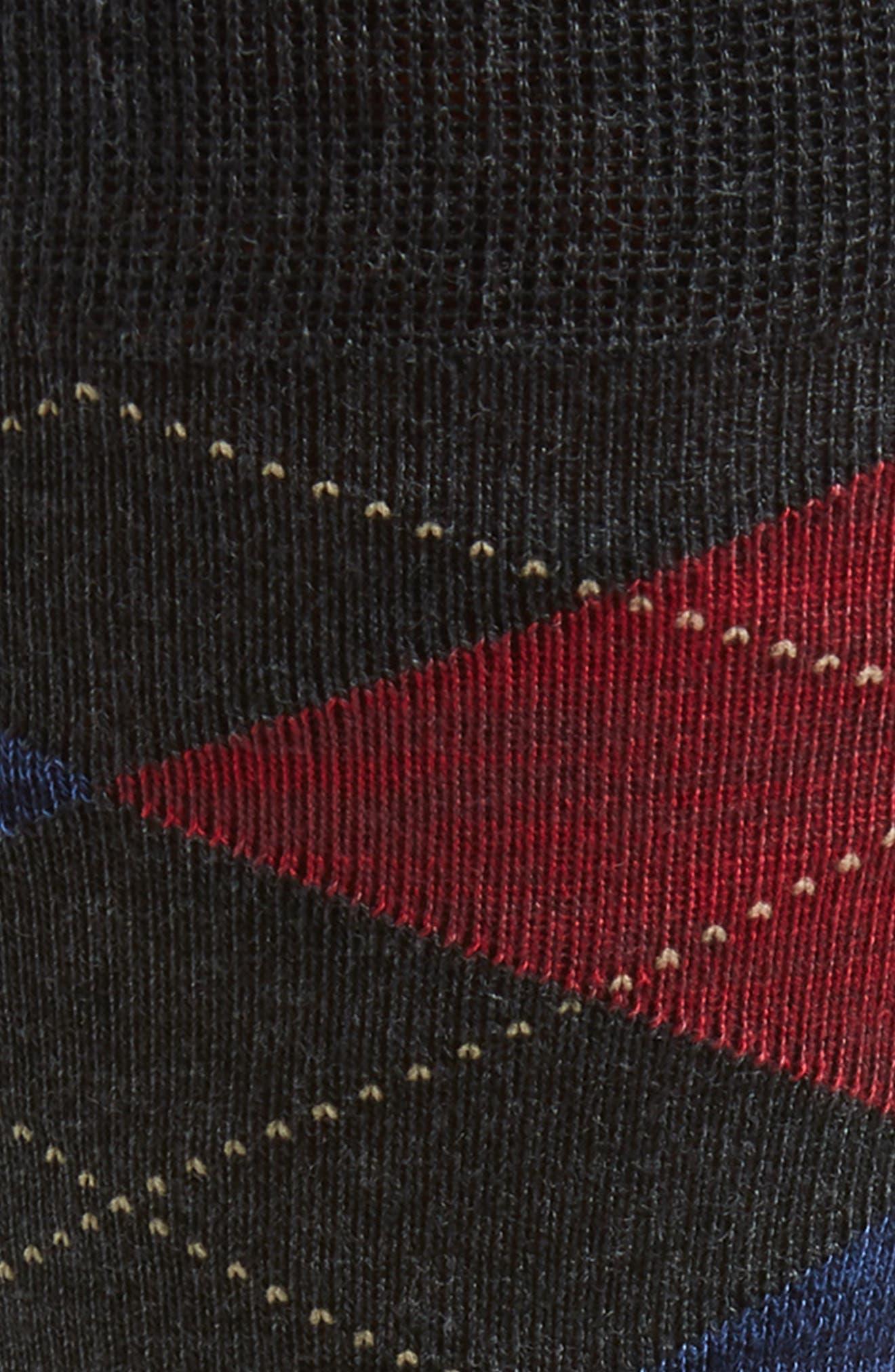 ,                             Marled Argyle Socks,                             Alternate thumbnail 4, color,                             022