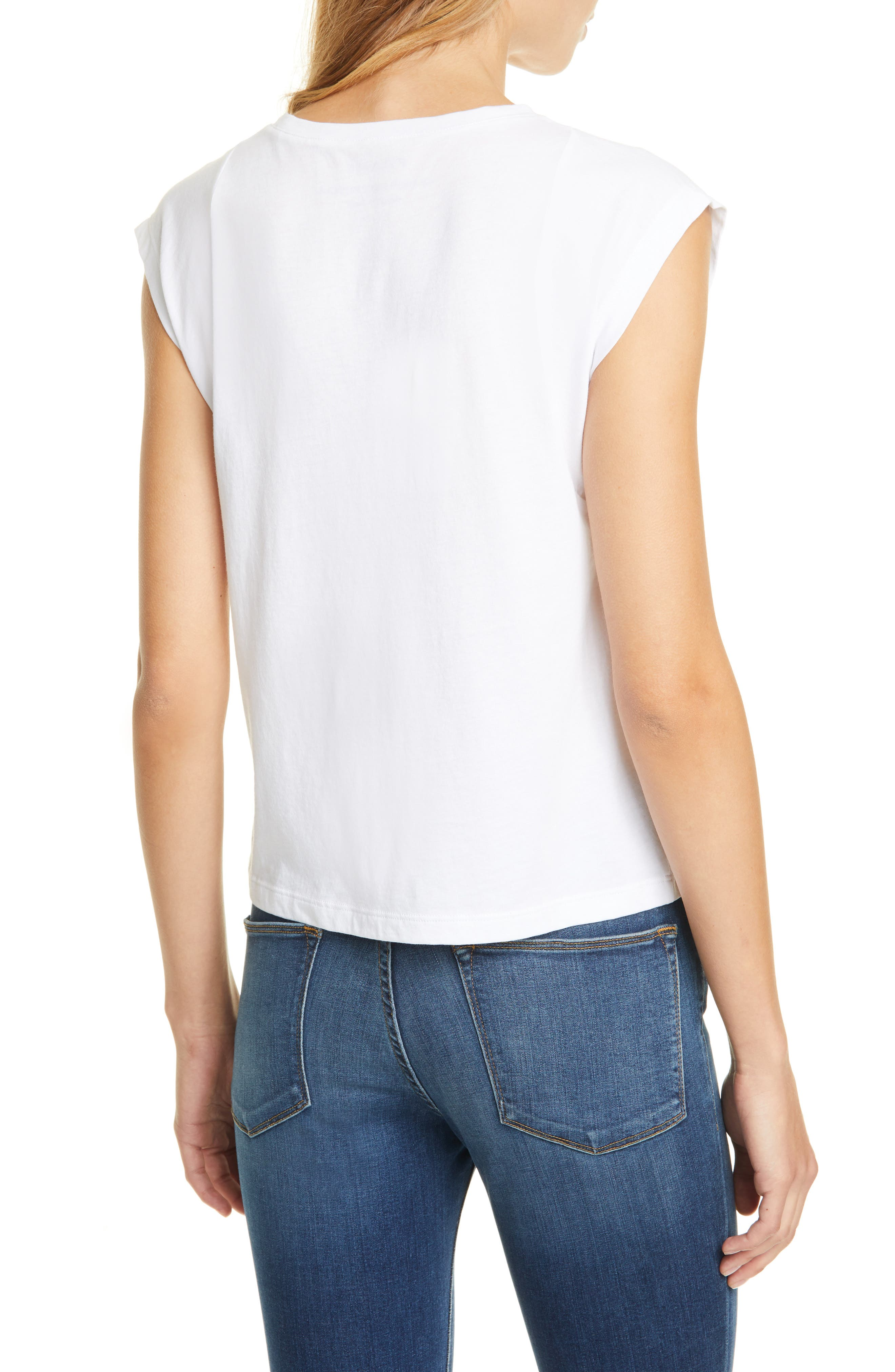 Frame Tops Le High Rise Muscle Tee