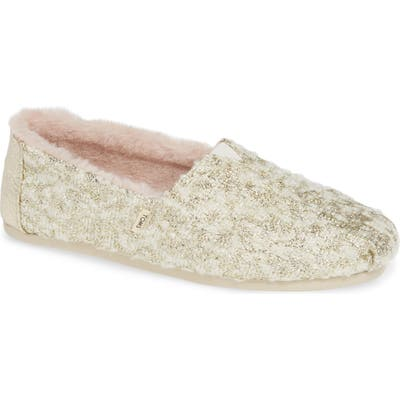 Toms Alpargata Slip-On- Metallic