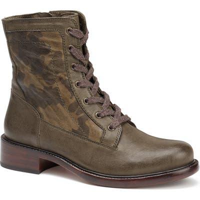 Trask Brett Combat Boot- Green