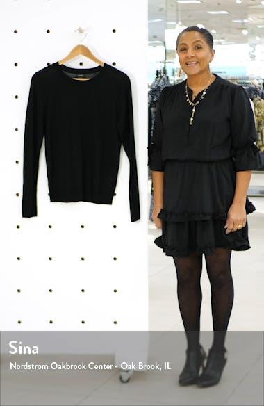 Crewneck Merino Wool Blend Sweater, sales video thumbnail