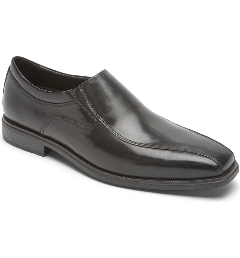 ROCKPORT DresSports Business Venetian Loafer, Main, color, BLACK GLASS