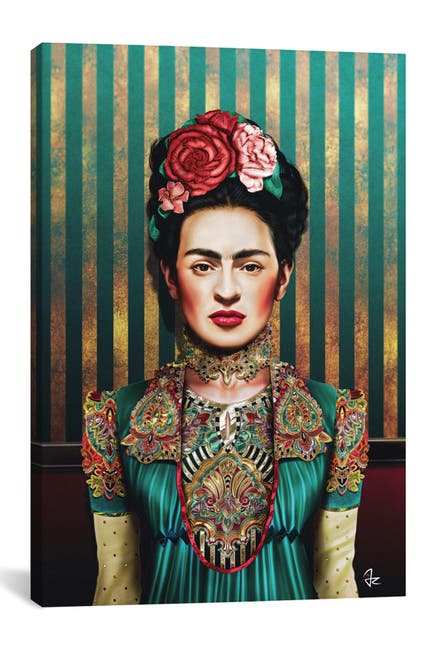 Image of iCanvas Frida by Giulio Rossi Wall Art