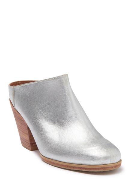 Image of RACHEL COMEY Mars Metallic Leather Block Heel Mule