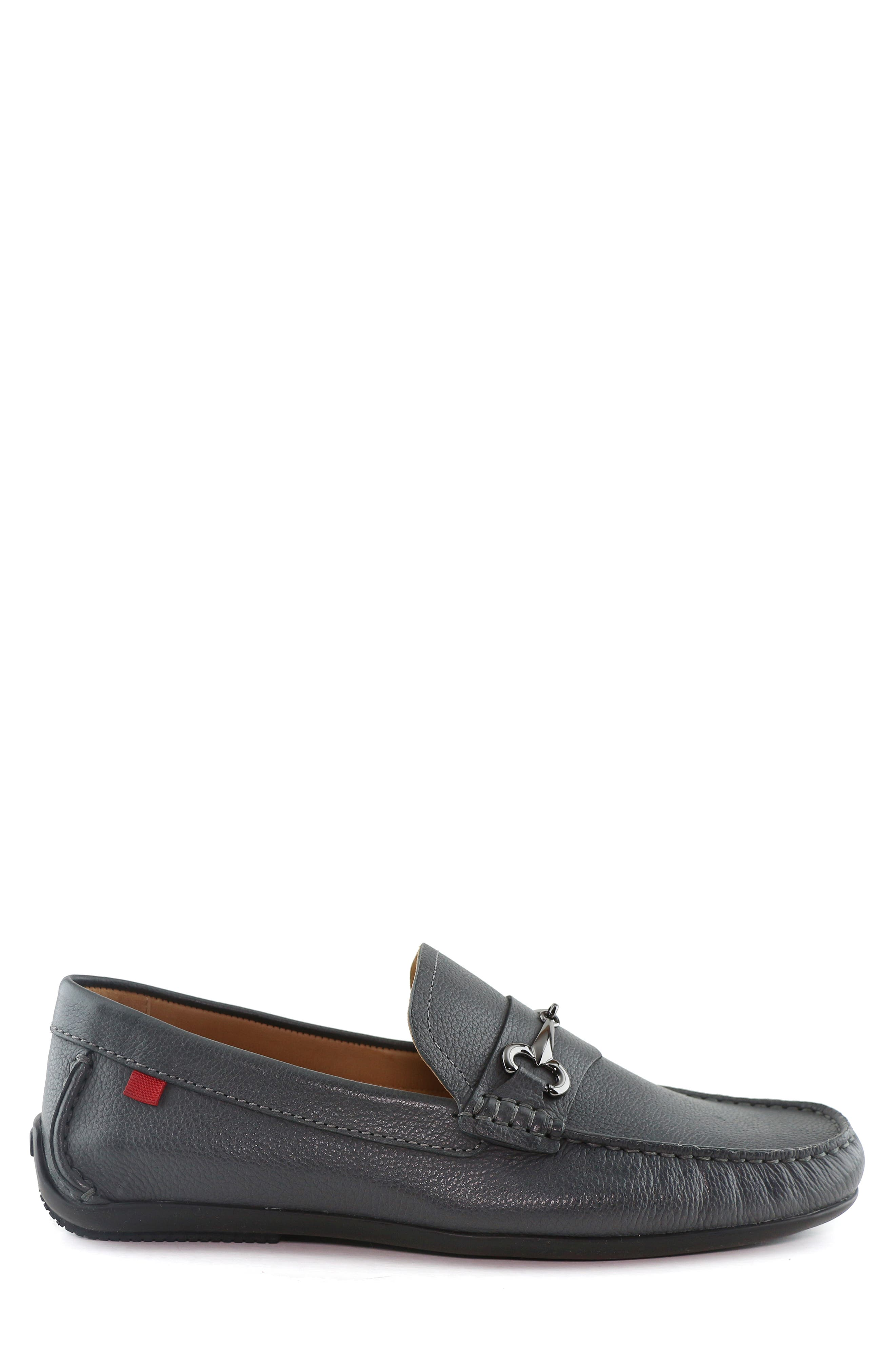 ,                             Wall Street Driving Shoe,                             Alternate thumbnail 3, color,                             GREY LEATHER