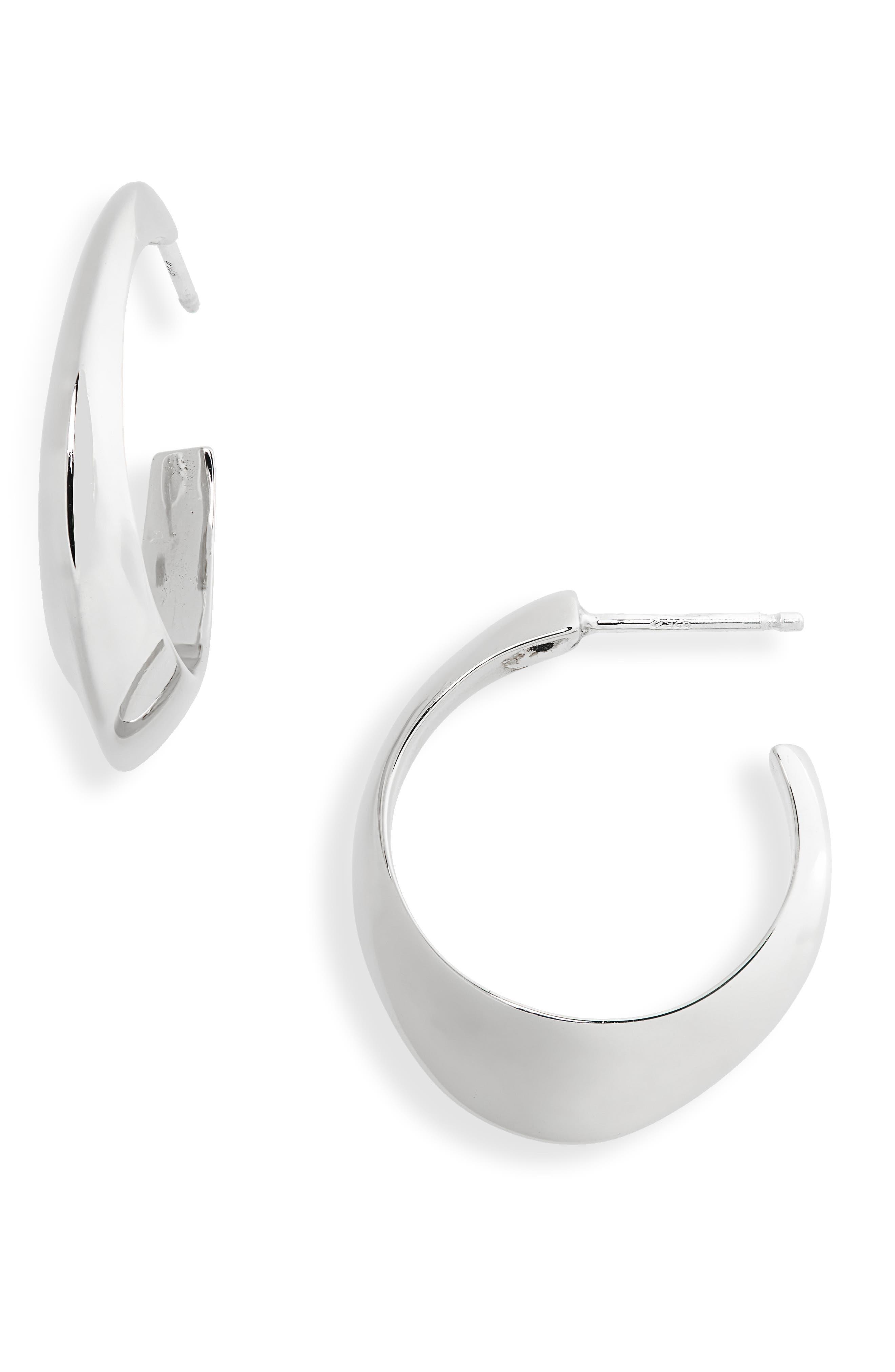 Aero Hoop Earrings