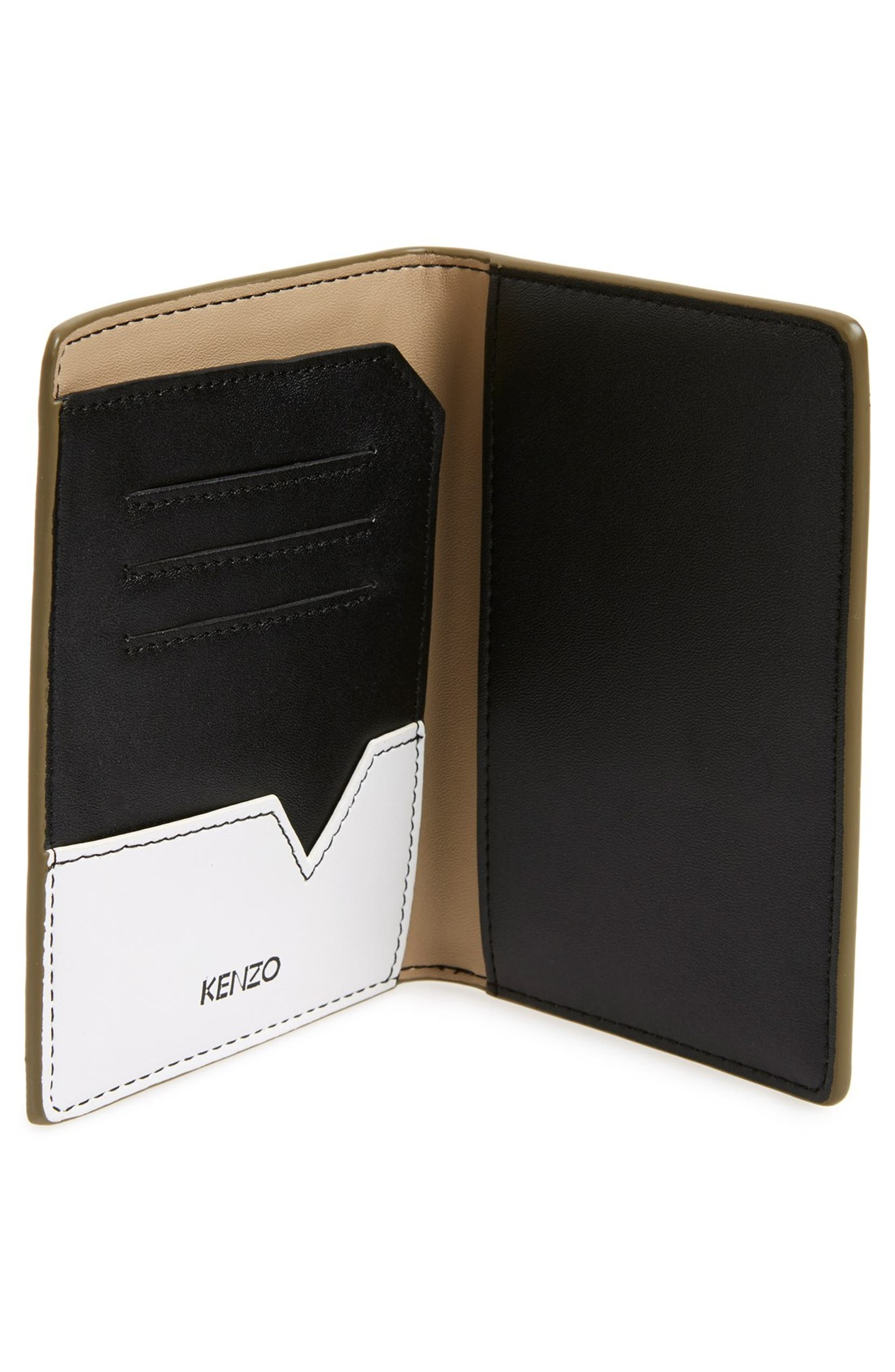 newest 0594f 48ec7 KENZO 'Flying Logo' Passport Cover | Nordstrom