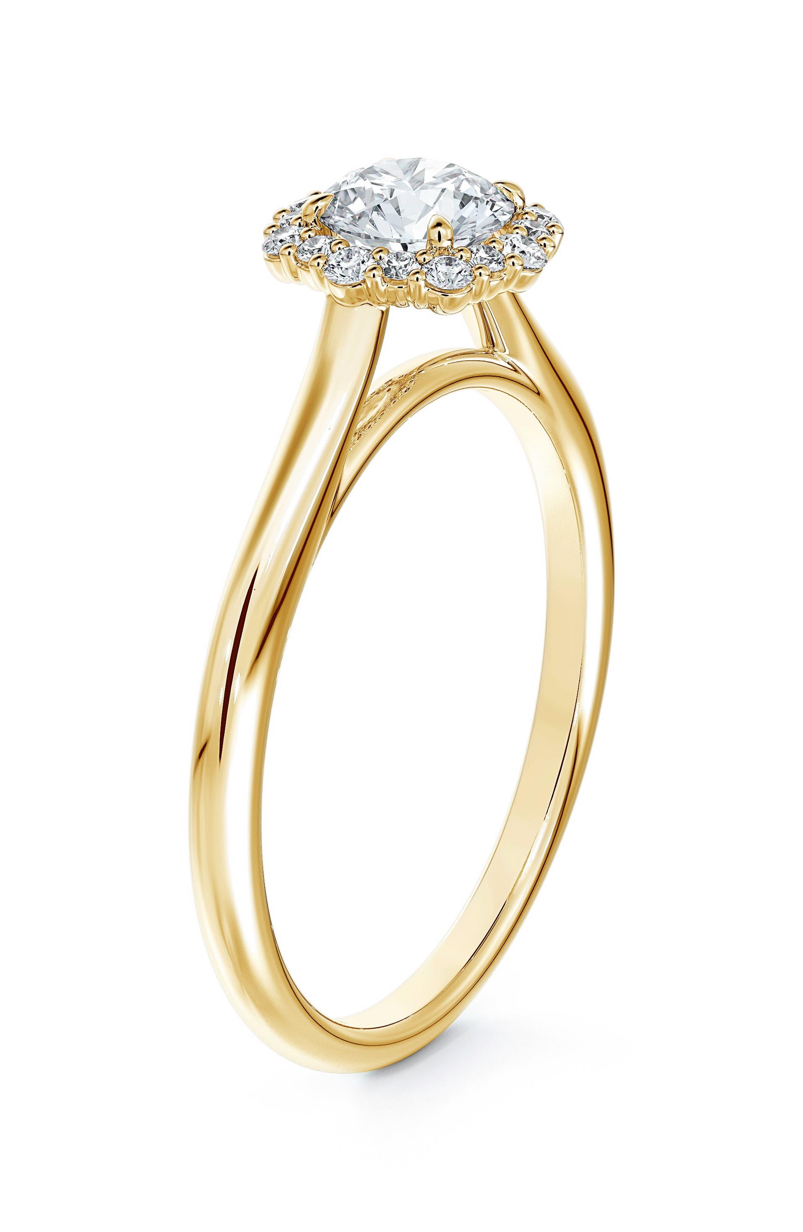 Center Of My Universe Diamond Engagement Ring