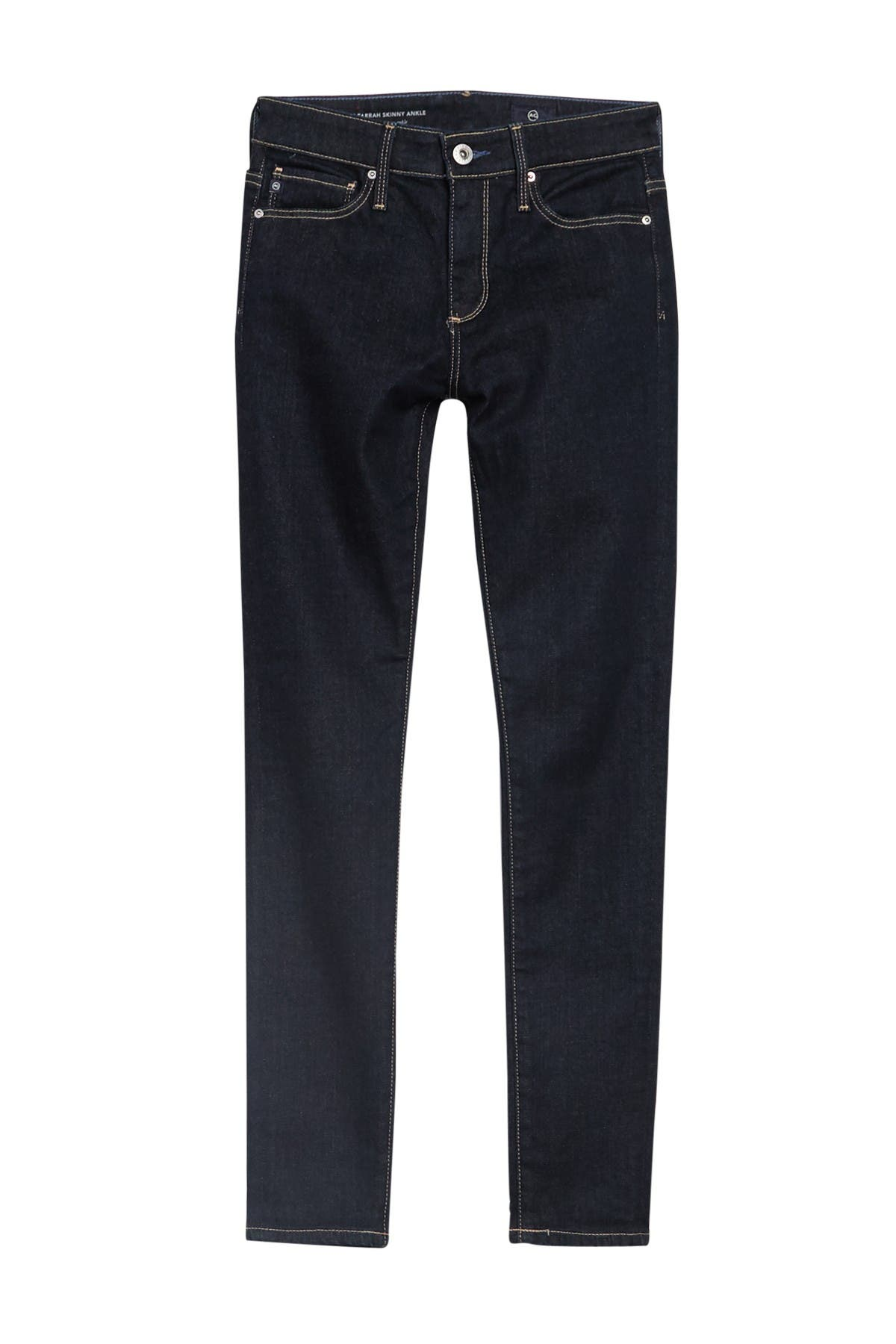 Image of AG High-Rise Skinny Ankle Jeans