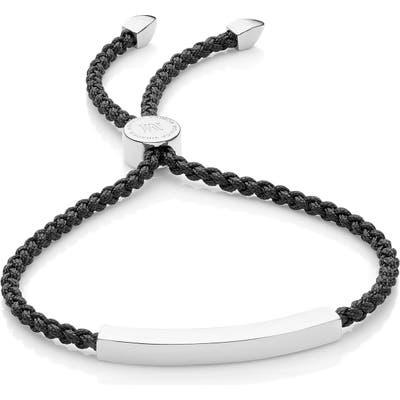 Monica Vinader Engravable Linear Friendship Bracelet