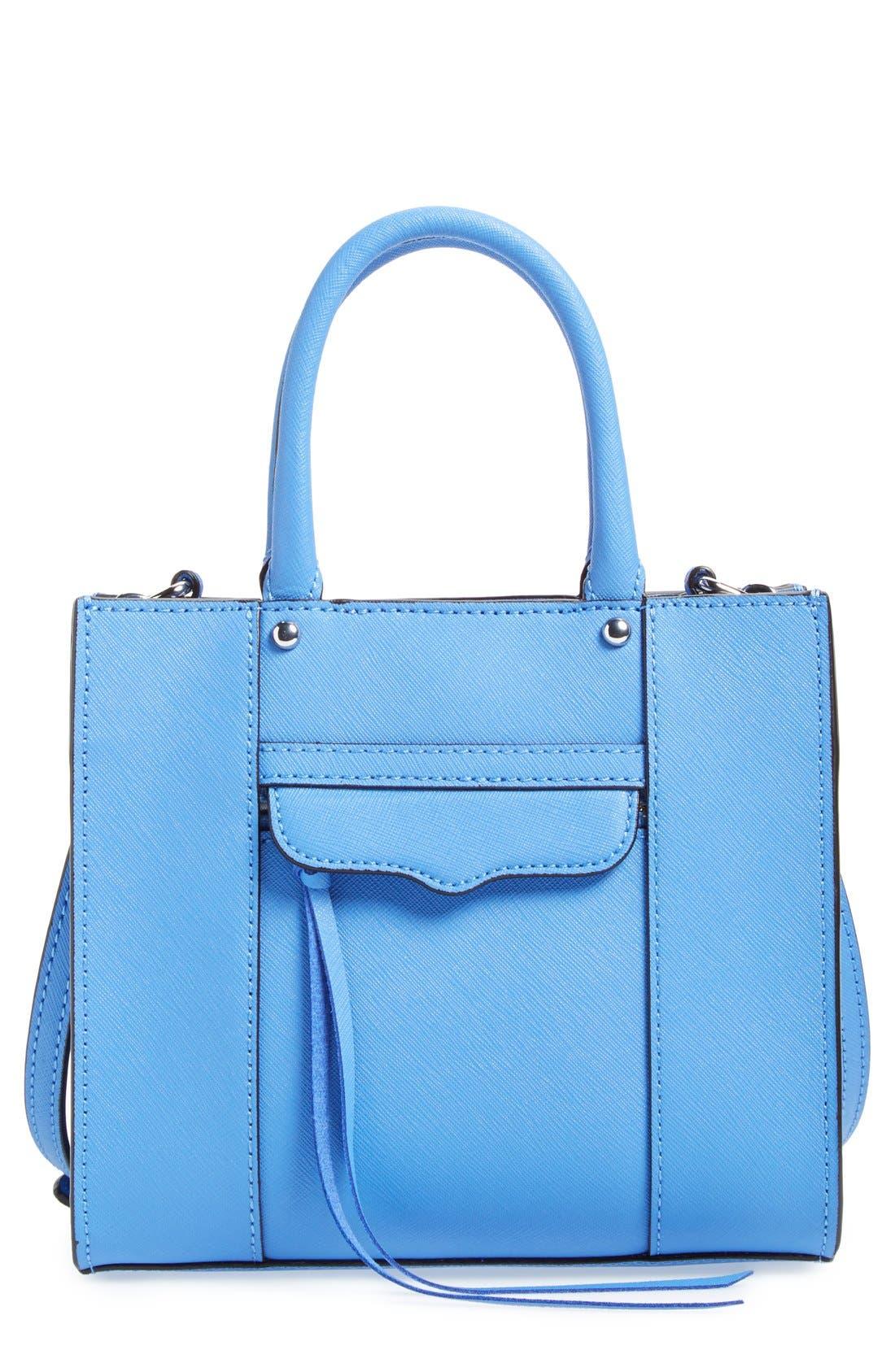 ,                             'Mini MAB Tote' Crossbody Bag,                             Main thumbnail 55, color,                             400