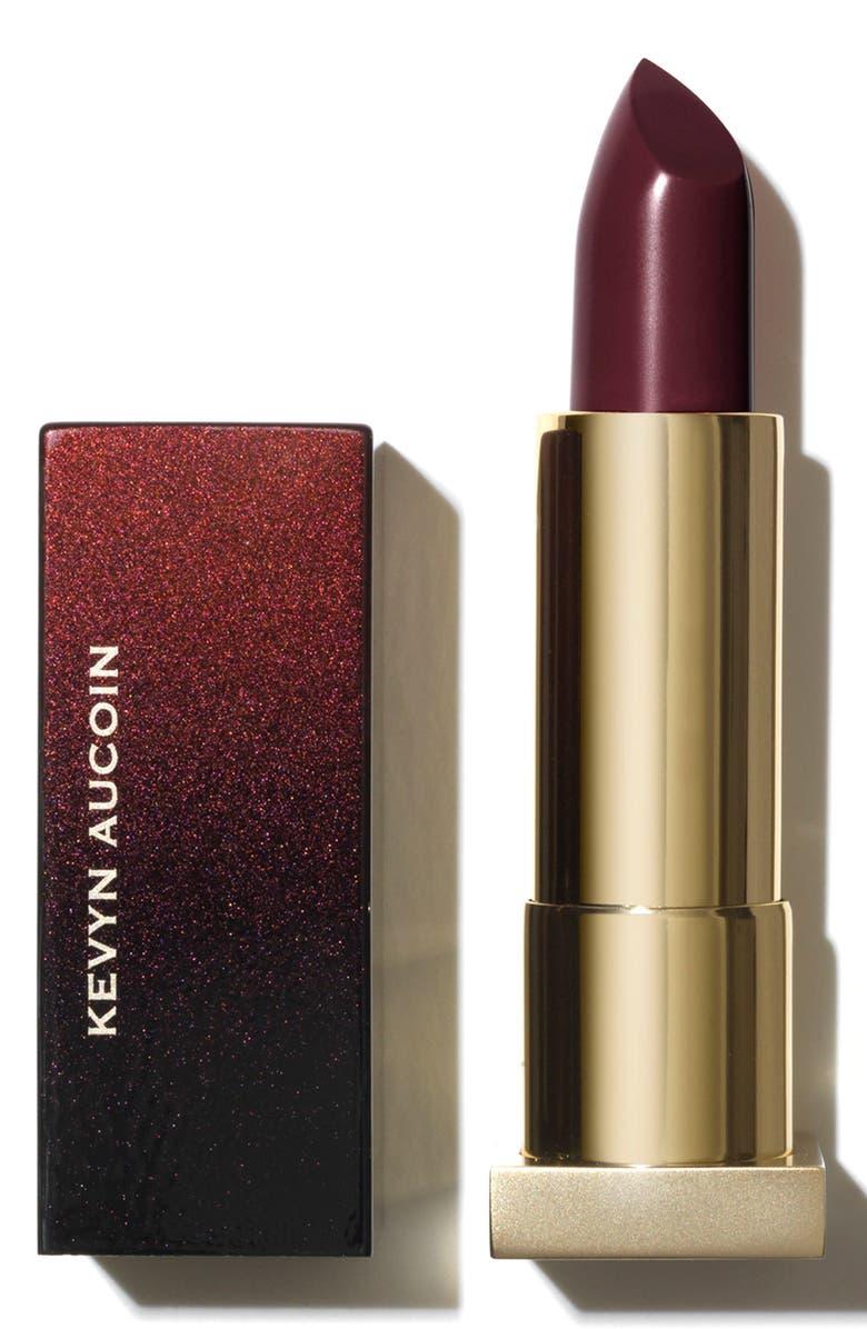 KEVYN AUCOIN BEAUTY The Expert Lip Color, Main, color, BLACK DAHLIA