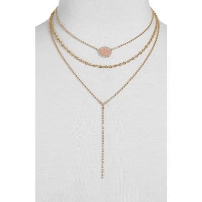 Baublebar Musia Drusy Layered Y-Necklace