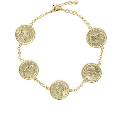 Uncommon James By Kristin Cavallari Las Brisas Coin Bracelet