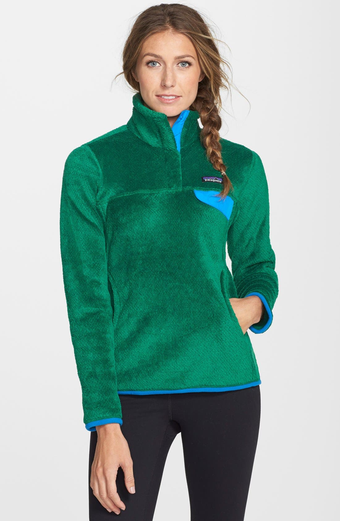 ,                             Re-Tool Snap-T<sup>®</sup> Fleece Pullover,                             Main thumbnail 107, color,                             300