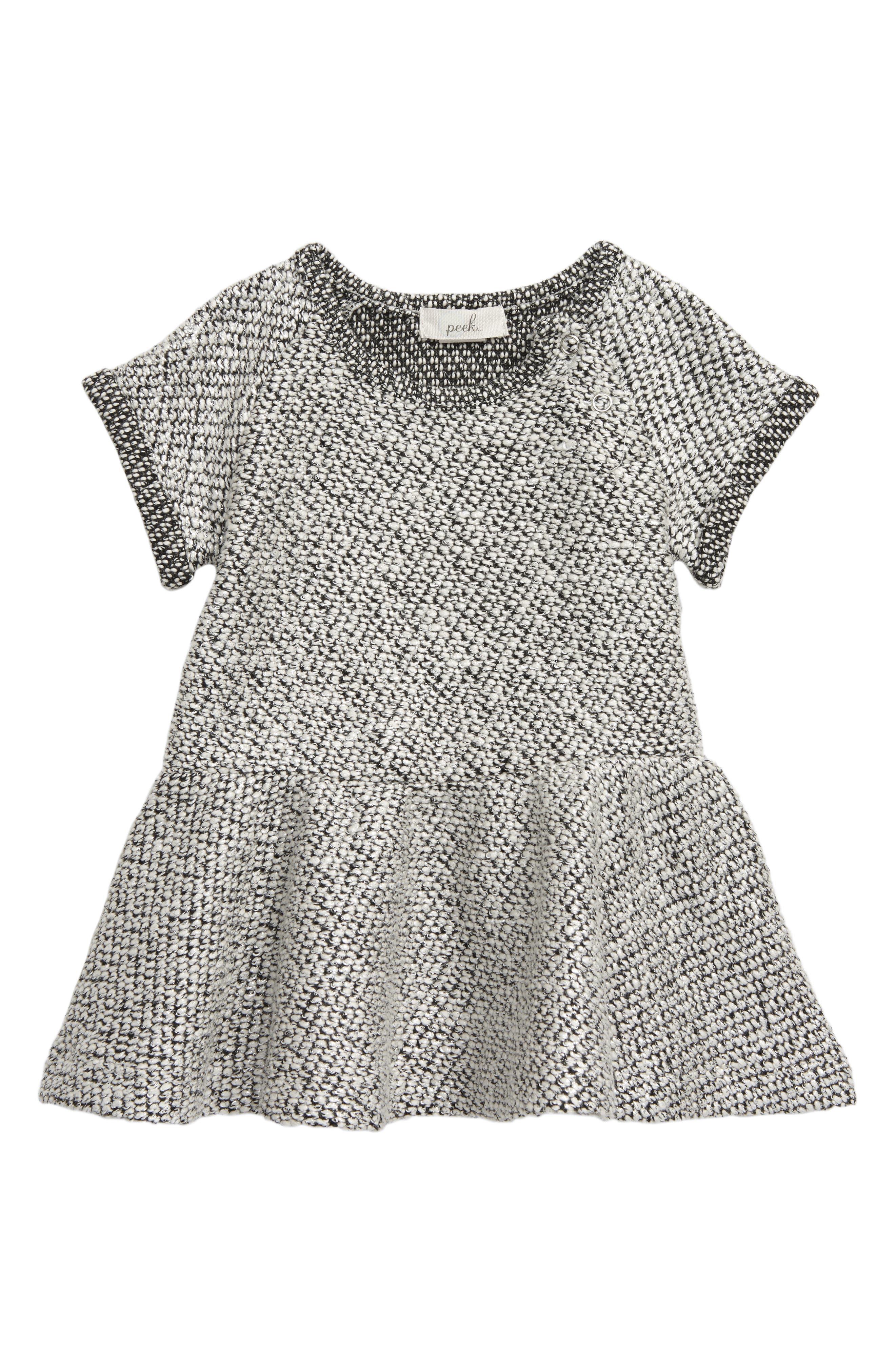 Image of PEEK ESSENTIALS Kristina Marled Knit Sweater Dress