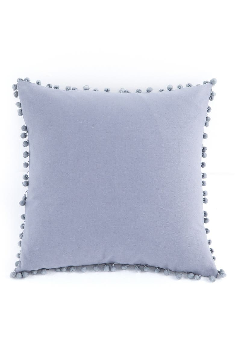 LALA + BASH Elodie Pom Pillow, Main, color, 020