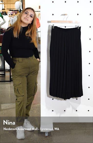 Pleated Culotte Pants, sales video thumbnail