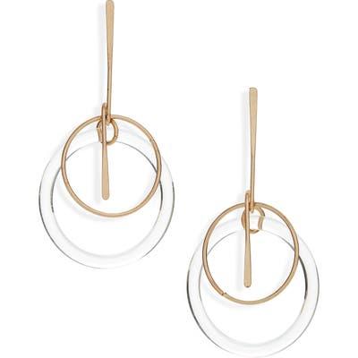 Bp. Metal Stick & Resin Orbital Earrings
