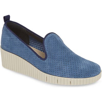 The Flexx Fast Times Too Perforated Wedge Loafer