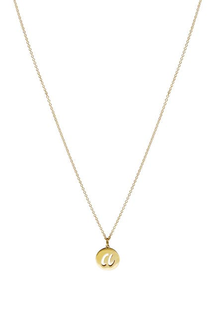 Image of Bony Levy 14K Gold Initial Pendant Necklace - Multiple Letters Available