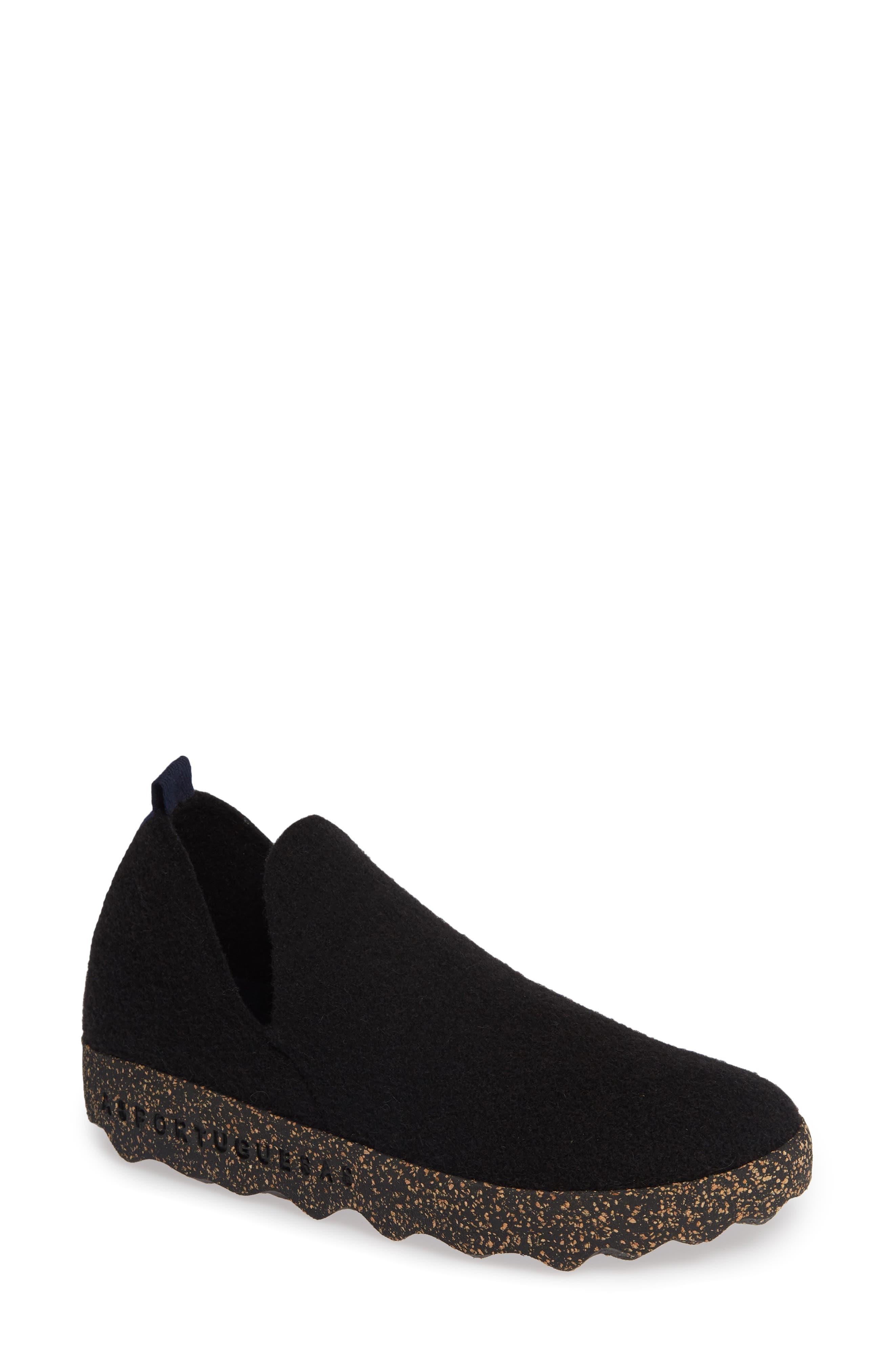 Asportuguesas By Fly London City Sneaker, Black