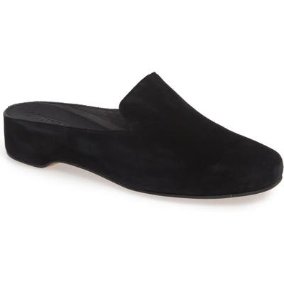 Camper Serena Loafer Mule, Black
