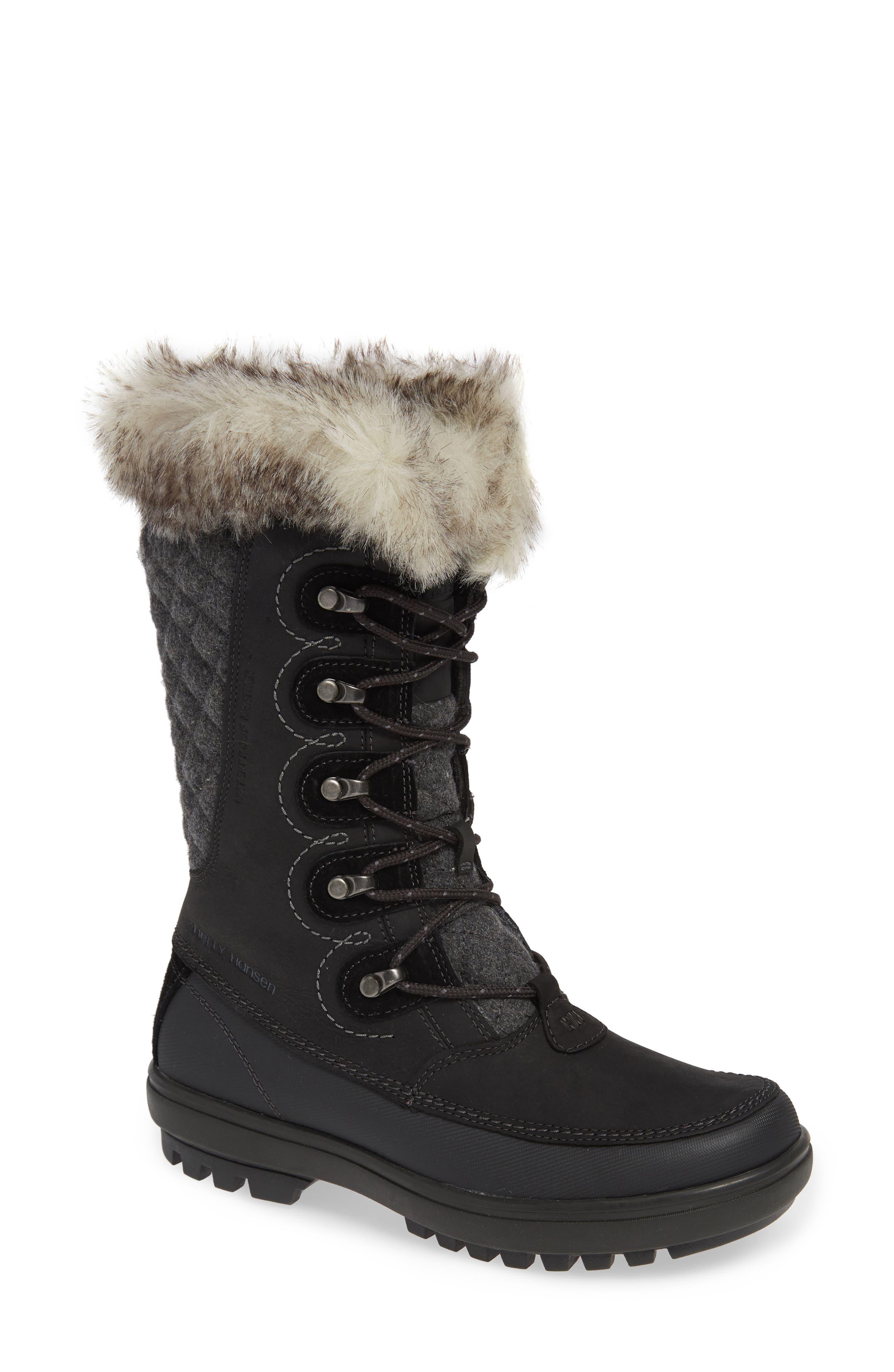 Helly Hansen Garibaldi Waterproof Boot, Black
