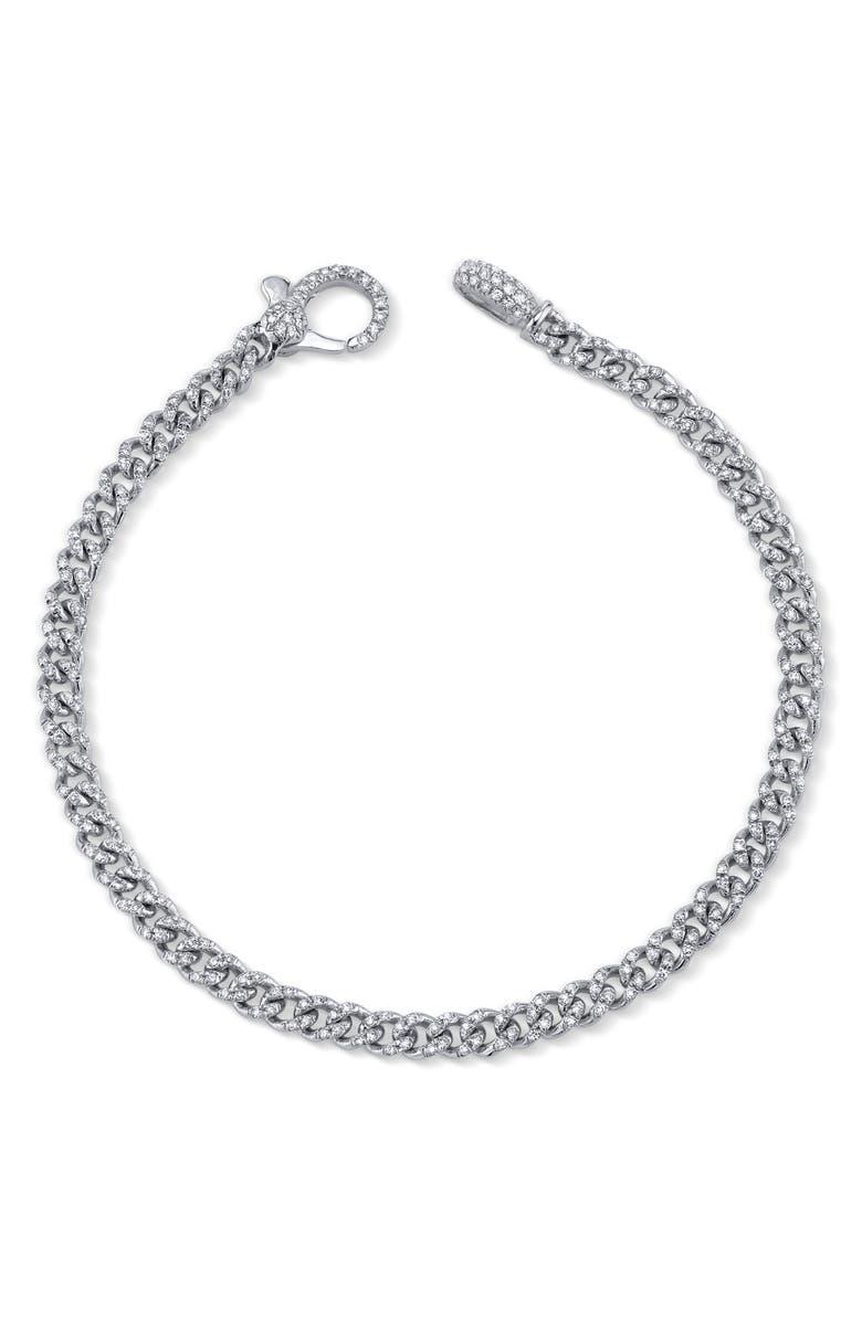 SHAY Pavé Link Bracelet, Main, color, DIAMOND