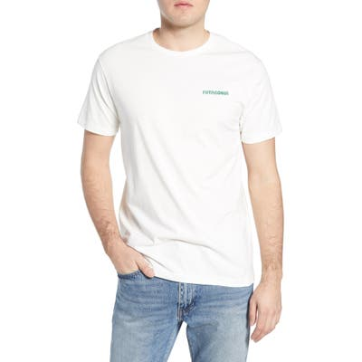 Patagonia Stand Up Graphic Organic Cotton T-Shirt, White