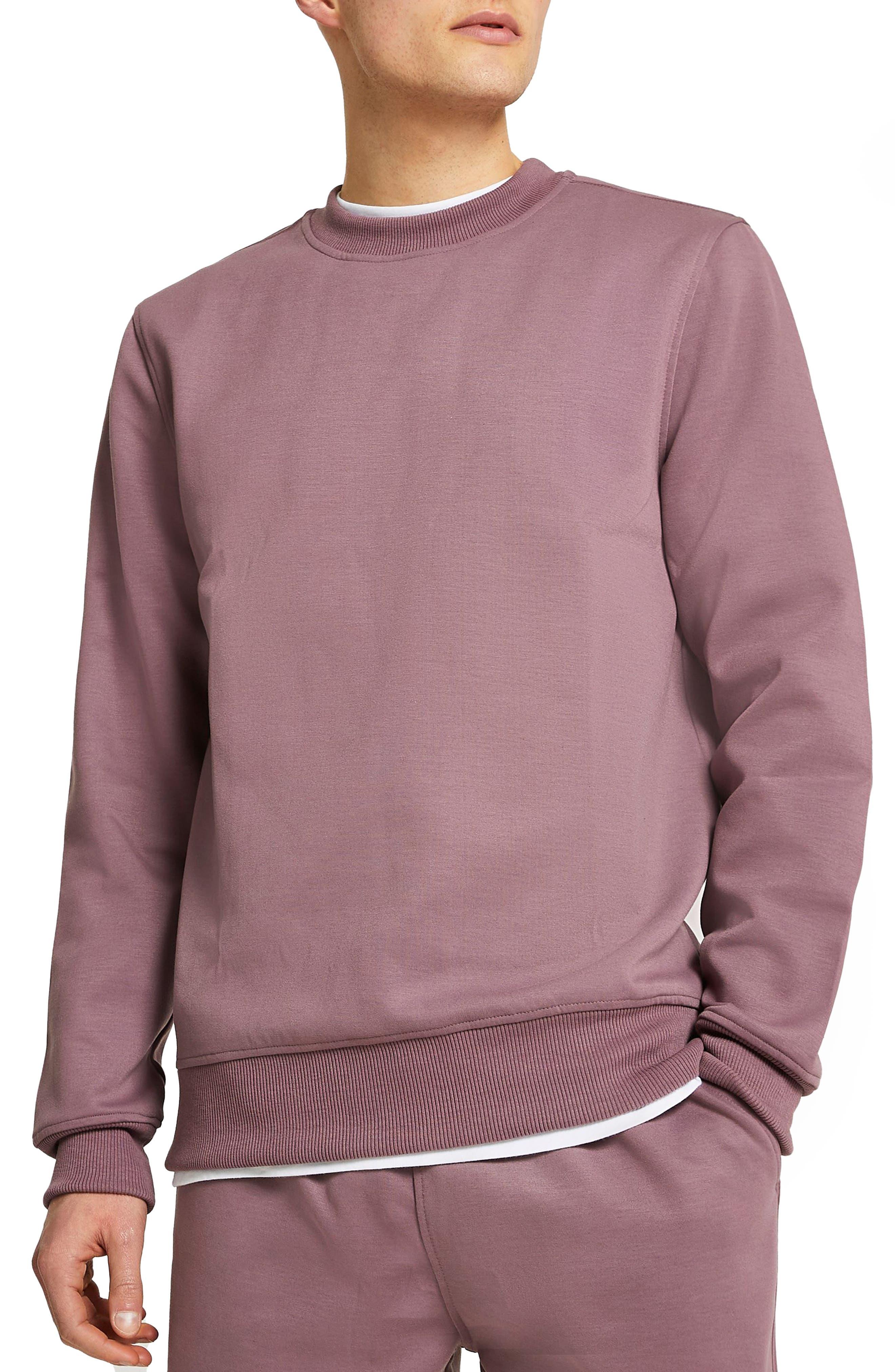 Men's River Island Premium Essentials Crewneck Pullover