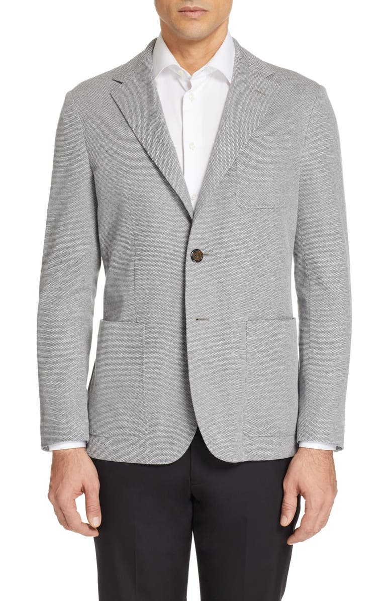 CANALI Classic Fit Washed Sport Coat, Main, color, 050