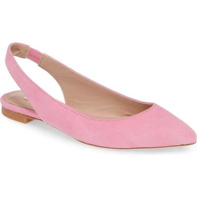 James Chan Nakasey Slingback Sandal, Pink