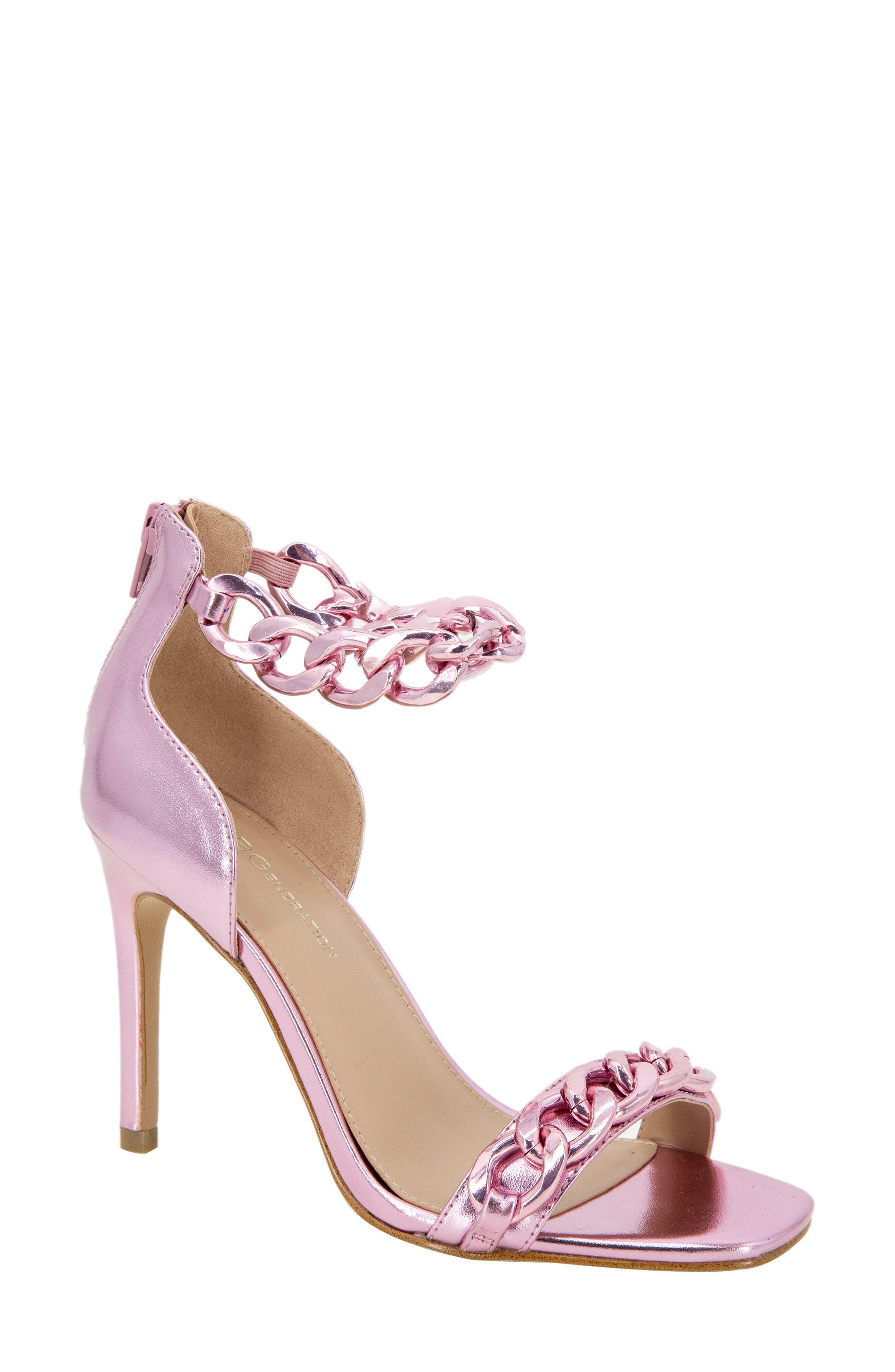 Isinna Chain Ankle Strap Sandal