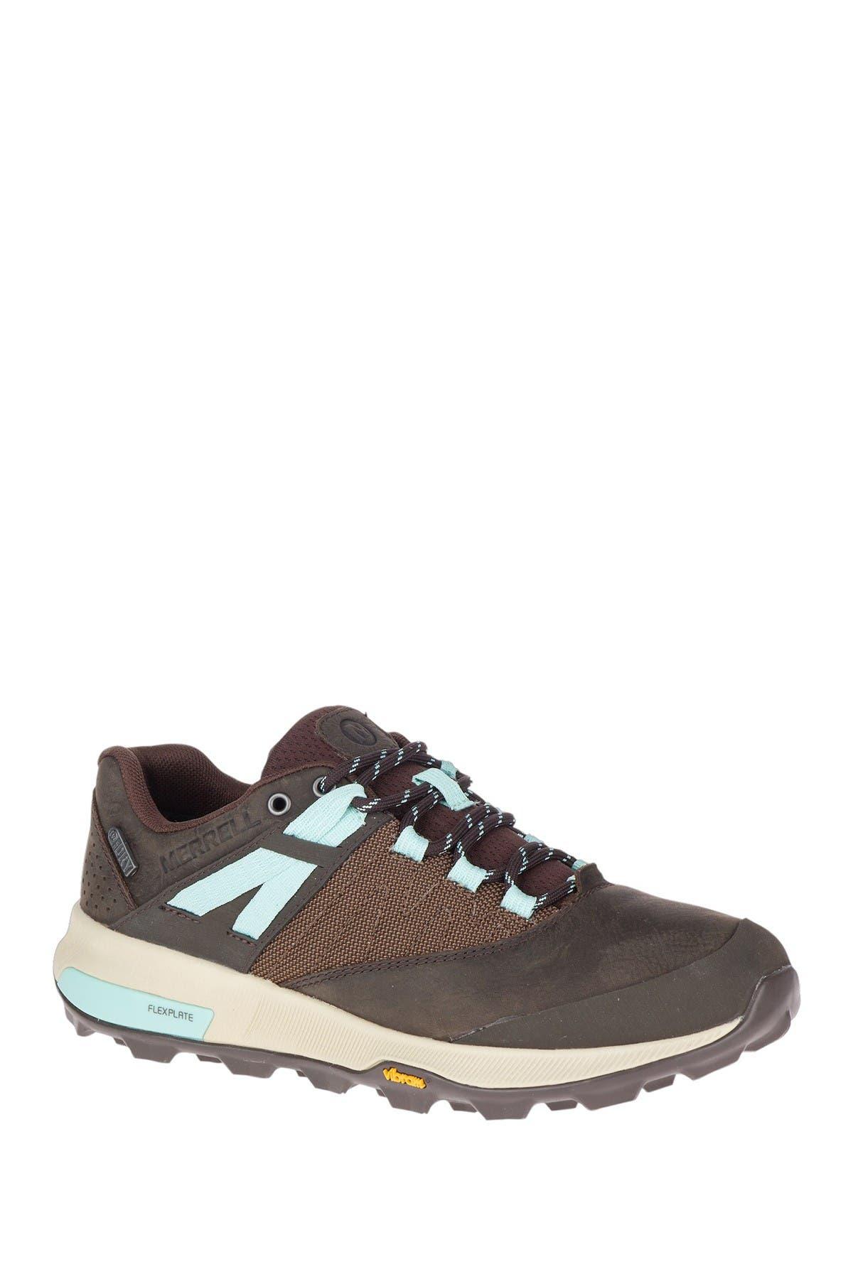 Image of Merrell Zion Waterproof Leather Sneaker