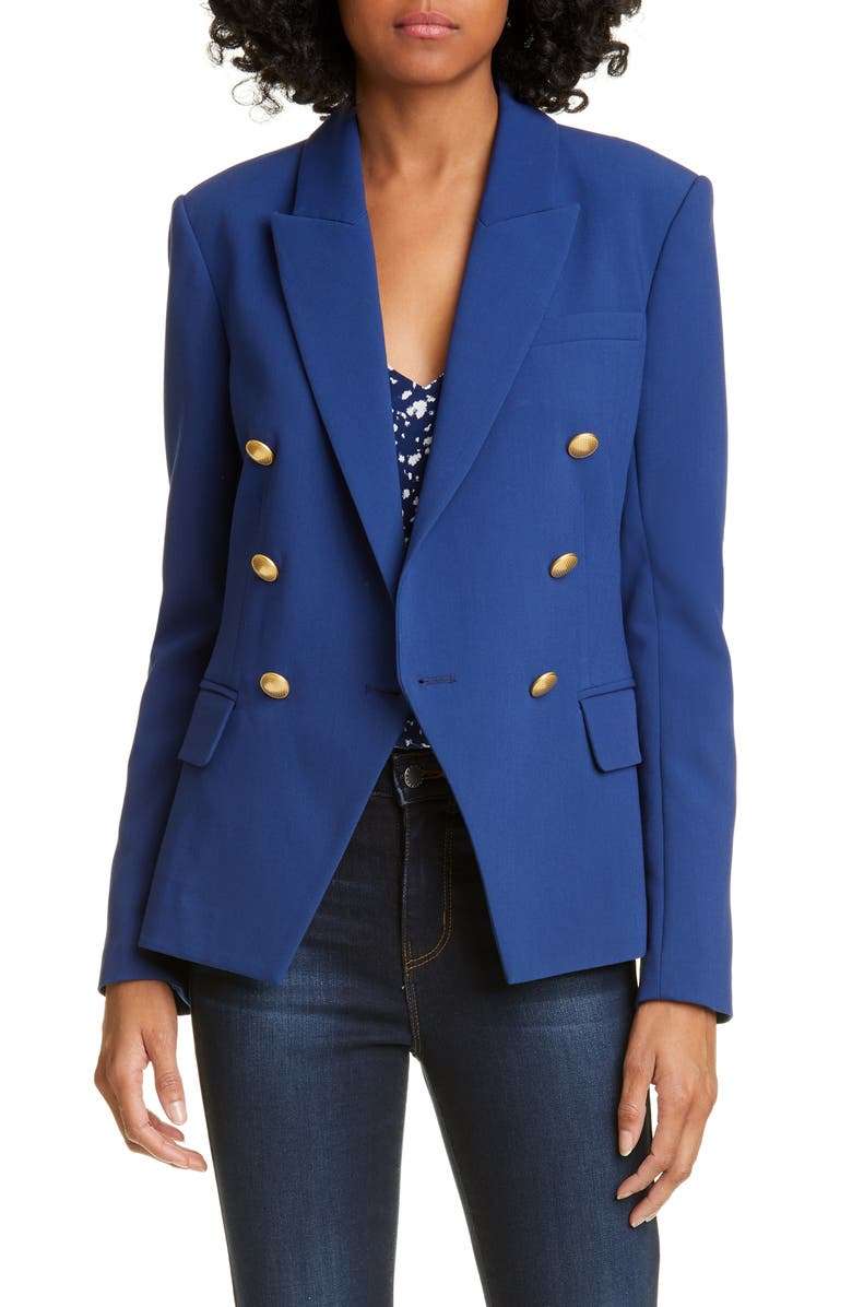 Kenzie Double Breasted Blazer by L'agence