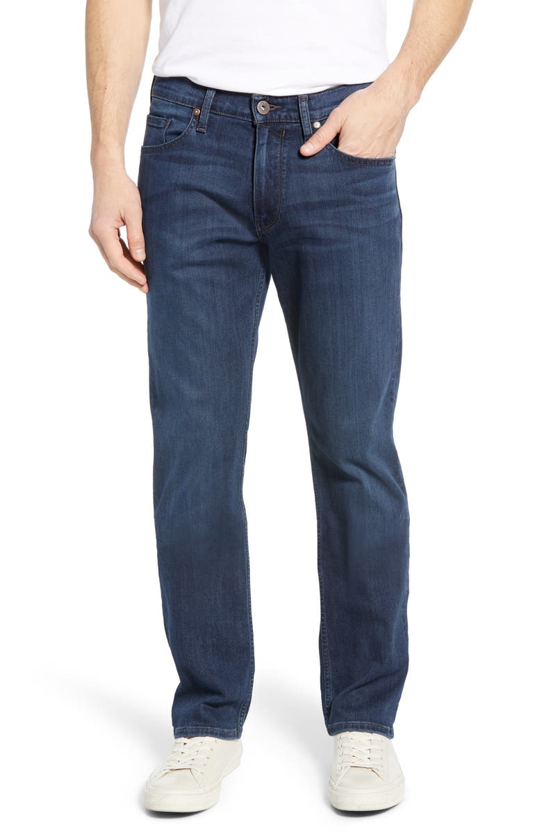 PAIGE Transcend - Normandie Straight Leg Jeans, Main, color, 400
