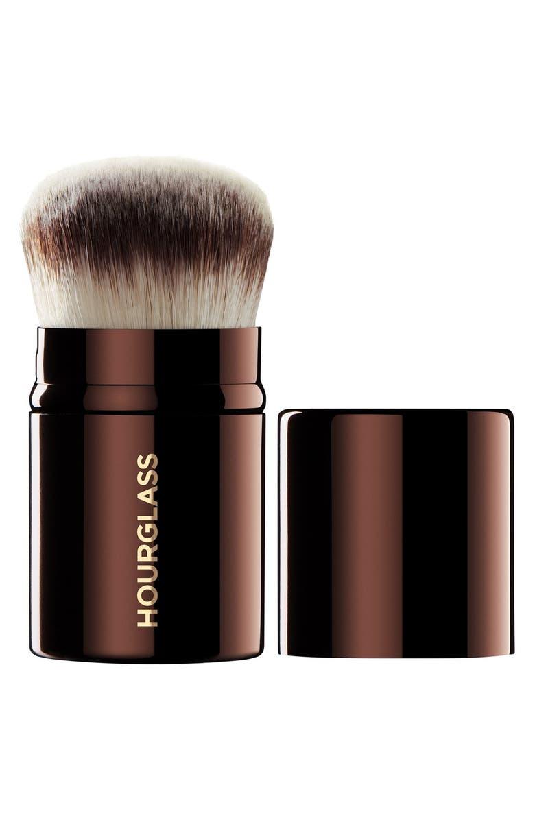 HOURGLASS Retractable Kabuki Brush, Main, color, RETRACTABLE KABUKI BRUSH